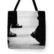 Reluctant March  Tote Bag