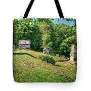 Remains Of Willie Gibbons House Tote Bag