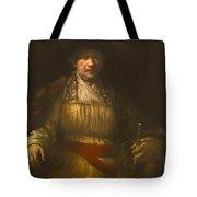 Rembrandt Self Portrait Tote Bag