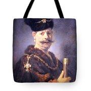 Rembrandt's A Polish Nobleman Tote Bag