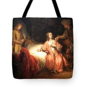Rembrandt's Joseph Accused By Potiphar's Wife Tote Bag
