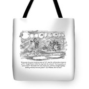 Remember The Great Cranberry Scare Of '59? Tote Bag
