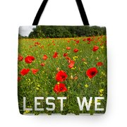 Remember Them Poster Version Tote Bag