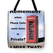 Remember When . . . Tote Bag