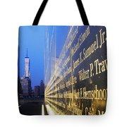 Remembering 9/11-hope And Despair Tote Bag