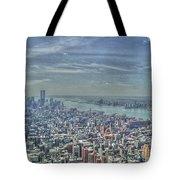New York Remembering 9/11 Tote Bag