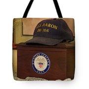 Remembering De-166 Uss Baron Tote Bag