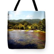 Remembering Mendota Tote Bag by Karen Wiles
