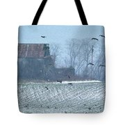 Remembering The Farm Tote Bag