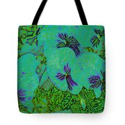 Remembrance Flowers Tote Bag