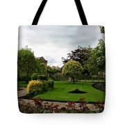 Remembrance Park - In Bakewell Town Peak District - England Tote Bag
