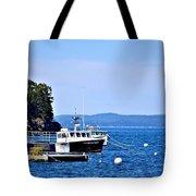 Remington Lobster Boat Tote Bag