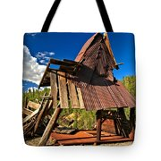 Remnants Of The Colorado Gold Rush Tote Bag