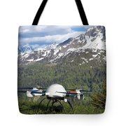 Remote Controlled Helicopter Tote Bag