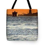 Remote Lady Liberty Tote Bag