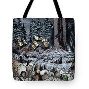 Remote Village Tote Bag