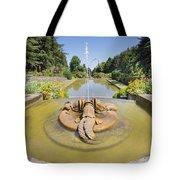 Renaissance Dolphin Sculptures Water Fountain Tote Bag