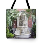 Renaissance Style Water Fountain Tote Bag