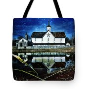 Rendezvous Amidst The Reeds Tote Bag by Kevyn Bashore