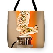 Rene Lalique -coq Nain - 1930 Bentley Speed Six H.j Mulliner Saloon Hood Ornament Tote Bag