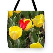 Renegade Tulip Tote Bag