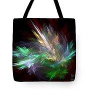 Renewal / Spring Puff Tote Bag by Elizabeth McTaggart