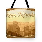 Reno Nevada  Tote Bag
