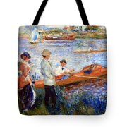 Renoir's Oarsmen At Chatou Tote Bag