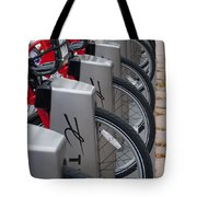 Rental Bikes Tote Bag