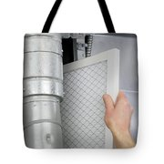 Replace Home Air Filter Tote Bag