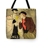 Reproduction Of A Poster Advertising Mothu And Doria In Impressionist Scenes Tote Bag