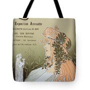 Reproduction Of A Poster Advertising 'schaerbeek's Artistic Circle Tote Bag
