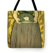 Reproduction Of A Poster Advertising Van Houten Cocoa Tote Bag