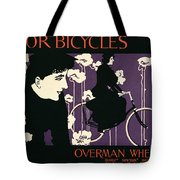 Reproduction Of A Poster Advertising Victor Bicycles Tote Bag