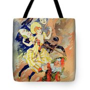 Reproduction Of A Poster Tote Bag