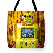 Rescue Robot Tote Bag