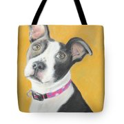 Rescued Pit Bull Tote Bag