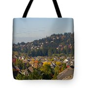 Residential Homes In Suburban North America Tote Bag