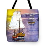 Resolution In Cook Inlet Tote Bag