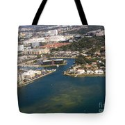 Resort City In The South Tote Bag