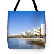 Resort City Of Marbella In Spain Tote Bag