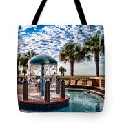 Resort Pool Tote Bag