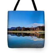 Resort Reflections 2 Tote Bag