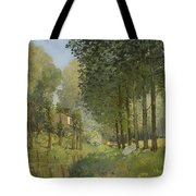 Rest Along The Stream Tote Bag