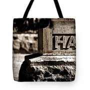 Rest Hart Bw Tote Bag