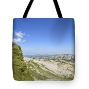 Rest In Beautiful Mountain Landscape Tote Bag by Matthias Hauser