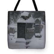 Rest In Winter Peace Tote Bag
