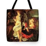 Rest On The Flight Into Egypt Tote Bag