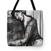 Rest - Pia #8 - Figure Series Tote Bag by Mona Edulesco
