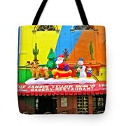Restaurant In Gateway To The Amazon River In Iquitos-peru Tote Bag